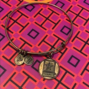 Jewelry - Alex & Ani US Army Bracelet